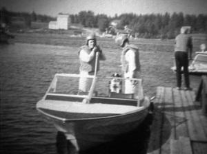Suur-Saimaan ajot 1968. Clastron V 150. Mercury 1000 vm.1965. P ja E Tuunanen