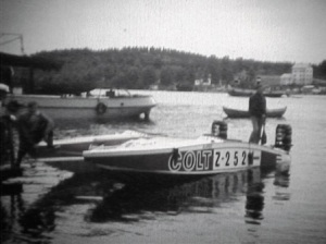 Suur-Saimaan ajot 1971. Timo Mäkisen Colt Flipper catamaran ja 2x Mercury